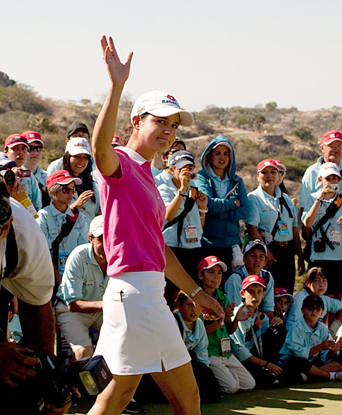 Lorena Ochoa, 28, retired LPGA player                       Retired from competitive golf earlier this year when she                       was the world's top player so she could focus on family                       and her foundation, which helps marginalized children                       and teenagers. She also helps fund La Barranca Educational                       Center, near Guadalajara, where more than 300 kids are educated and fed.