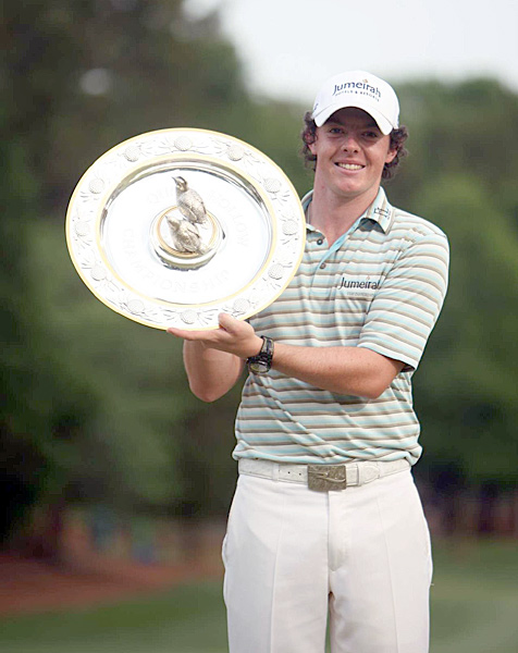Rory McIlroy, 21, golfer, European Tour and PGA Tour                       He's won twice—at Quail Hollow this year (thanks to a final-round 62)                       and in Dubai last—and finished tied for third at both the British Open                       and PGA. Major titles are imminent for the most buzzed-about Euro                       comer since Sergio Garcia (remember him?).