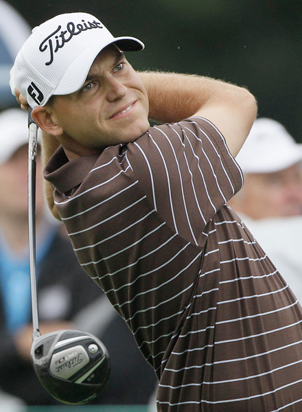 Bill Haas began the day at eight under before plummeting out of contention with a 78.