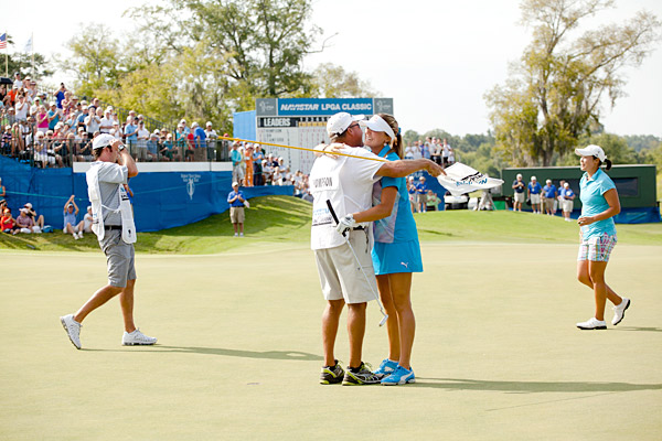 Lexi Thompson fired a two-under 70 to get to 17 under and win the Navistar LPGA Classic. She is the youngest winner in the history of the LPGA.