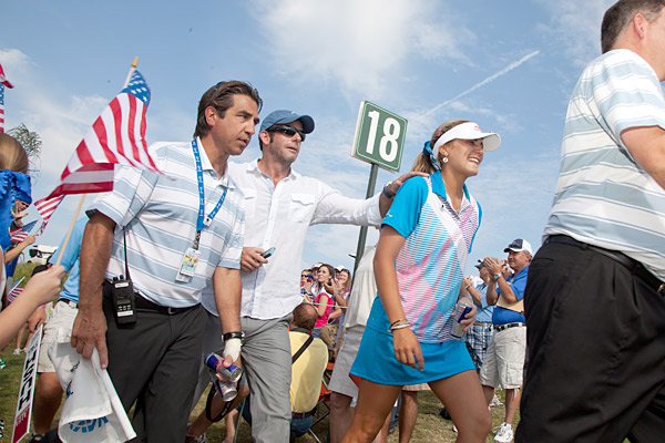 Her best finish on the LPGA Tour before the Navistar was a T2 at the 2010 Evian Masters.