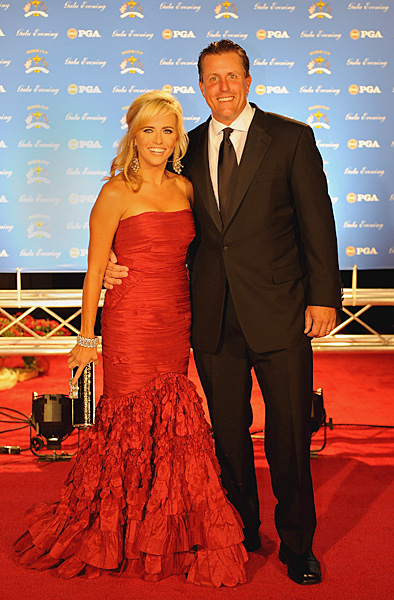 Phil and Amy Mickelson                                              Someday Phil Mickelson will be the captain of the U.S. Ryder Cup team, and it's fun to speculate about what kind of captain he will be. Friendly? Aloof? Overanalytical? Reckless? Who knows? Phil is large, he contains multitudes. However, there is no question what kind of captain's wife Amy will be. She'll be warm, charming, full of energy and popular with the players on both teams, their wives, and the fans.