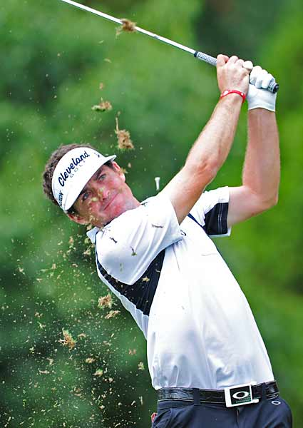 Keegan Bradley got off to a hot start on Thursday.