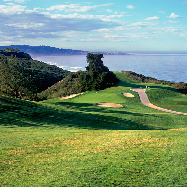 Torrey Pines (North), La Jolla, Calif. The much shorter sibling (by nearly 700 yards) to the South, this 1957 Billy Bell Jr. design boasts a handful of scenic holes on the front nine, but bland bunkers, equally vapid greens and an utterly forgettable back nine sink the North to the bottom.