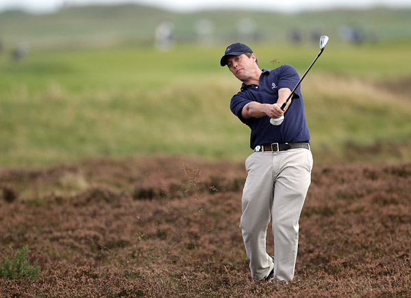 English actor Hugh Grant is a scratch golfer and a regular at the Dunhill Links.