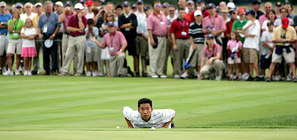 Anthony Kim                       One of the stars of the victorious U.S. Ryder Cup team in 2008, Kim honed his skills at the 2005 Walker Cup at Chicago Golf Club.