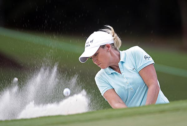 Cristie Kerr shot a 3-under 69 in the first round.