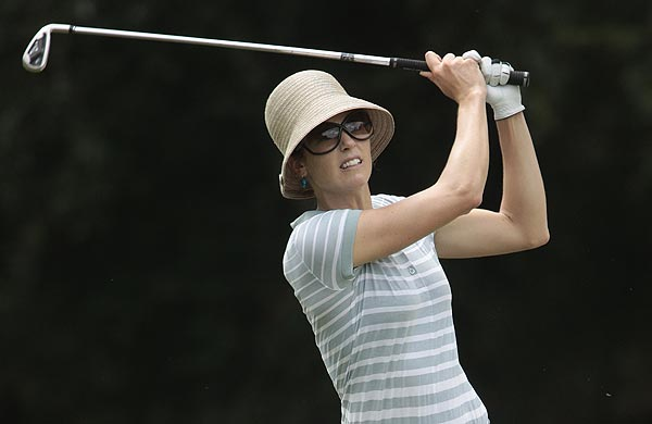 First Round of the Bell Micro LPGA Championship                     Anna Rawson was tied for the lead at five under par after the first round.