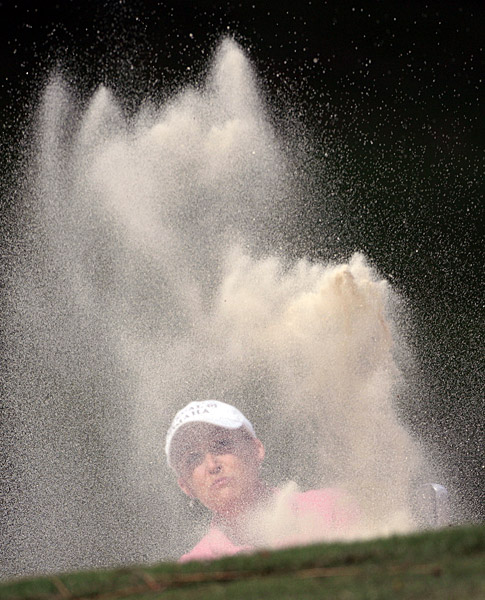 Third Round of the Bell Micro LPGA ChampionshipCristie Kerr started the day with a two-shot lead, but she shot a front-nine 41 on her way to a 76.