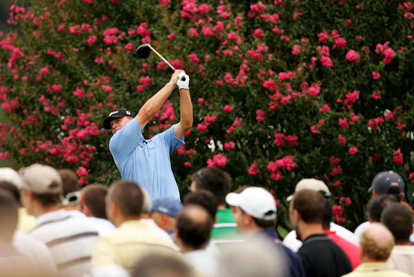 Steve Stricker can win the FedEx Cup if he wins the Tour Championship. But Stricker will need to go low this weekend. He finished nine shots behind Woods.
