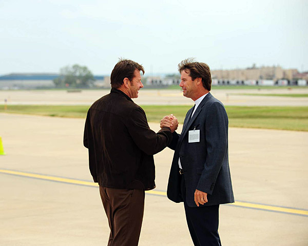 """""""You brought a great team over this year. I've been marveling how well you've been playing,"""" Azinger said to Faldo. """"I know we'll be a bit of an underdog. Hopefully, we can rise to the occasion and put on a good show."""""""