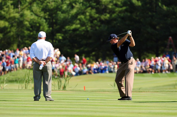 Phil Mickelson has won only one match in the past two Ryder Cups.