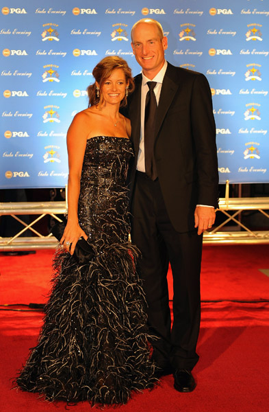 Jim and Tabitha Furyk.
