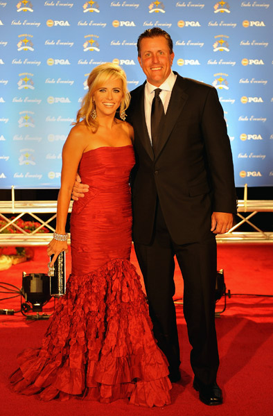 Phil and Amy Mickelson.