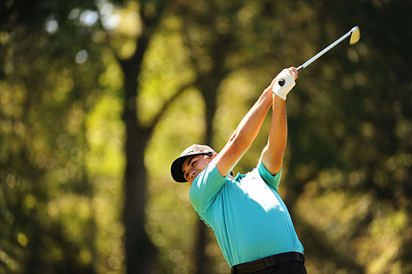 Jason Day made three birdies and no bogeys over the final ten holes to finish two shots back.
