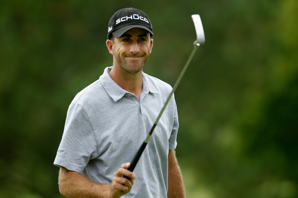 18. Geoff Ogilvy                                              Followers: 24,060                       Twitter Handle: @geoffogilvy                                              Sample Tweet: Well it looks like I will get some extra rounds at Augusta.......not sure if I am disappointed or pleased. Can you be both?