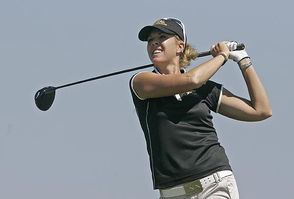 First Round of the Navistar LPGA Classic                       Jill McGill shot a 7-under 65 for a share of the first-round lead.