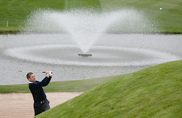 Poulter qualified for the European team on points. This will be his third Ryder Cup.