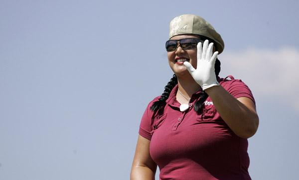 Christina Kim shot a three-under 69.