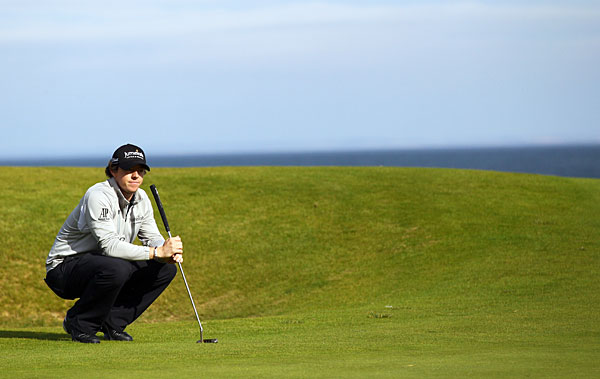 Rory McIlroy is making his first appearance since finishing third at the KLM Open.