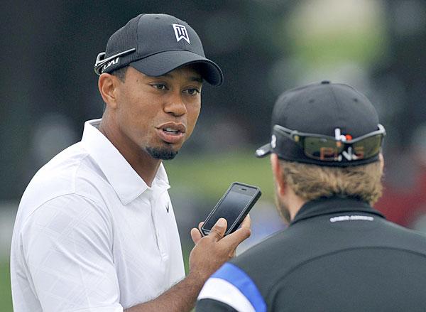 Tiger Woods at the 2011 Bridgestone Invitational.