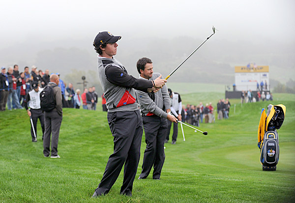 In 2010, McIlroy finished T3 at the British Open and PGA Championships while McDowell won the U.S. Open at Pebble Beach.