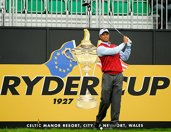 Despite a mediocre overall Ryder Cup record (10-13-2), Woods has played very well in singles, going 3-1-1.