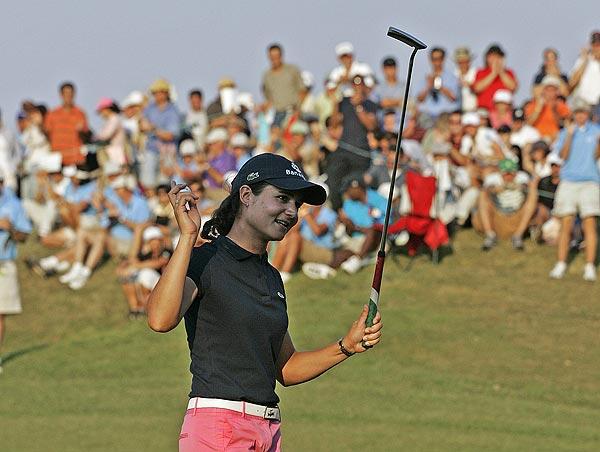 Final Round of the Navistar Classic                       Lorena Ochoa won the Navistar LPGA Classic on Sunday for her seventh win of the year.