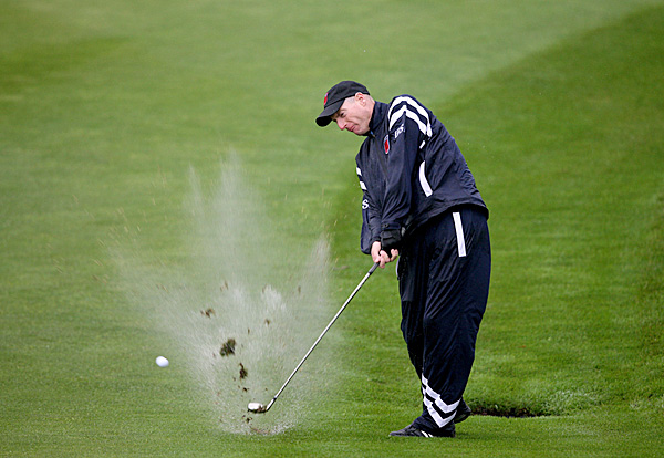 Ryder Cup rain suits                       Under any conditions, beating a tough European Ryder Cup team was going to be a tall order for the American team. Doing it in Wales, in driving rainstorms, in rain suits that several players players said leaked made it even tougher. Sun Mountain said it seriously doubted its waterproof material had leaked, but PGA of America officials bought ProQuip rain suits (the company that outfitted the European team) at Celtic Manor merchandise tents during an interruption of play on Friday.