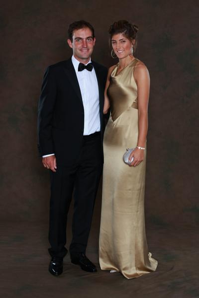 Edoardo Molinari and Anna Roscio.