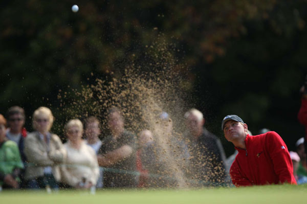Lucas Glover, left, and Scott Verplank rallied to beat Mike Weir and Vijay Singh.