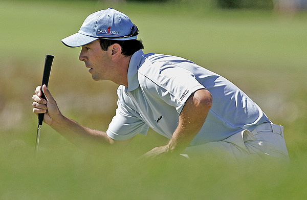 Mike Weir was three over for the day, ending at six under par.
