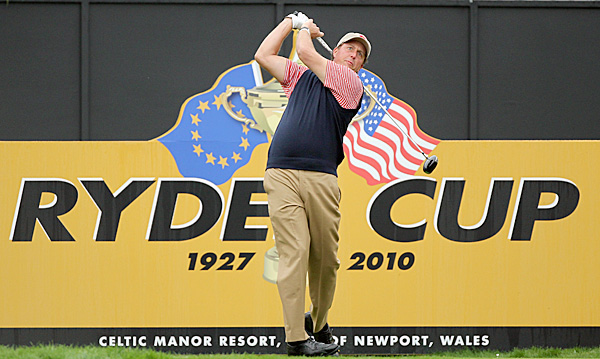 The U.S. has won just two of the seven Ryder Cups Mickelson has played in.