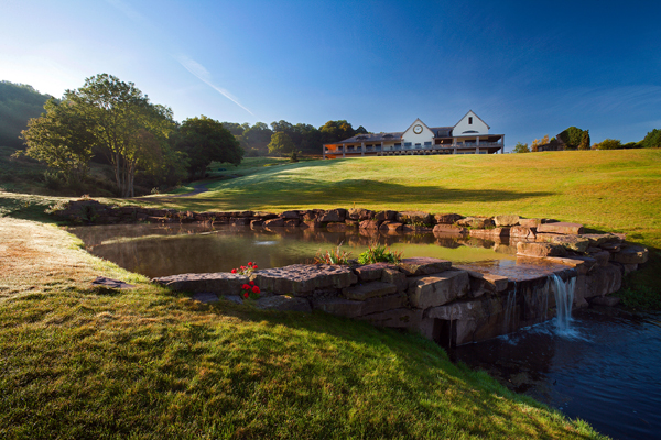 The clubhouse at Celtic Manor's Twenty Ten course.