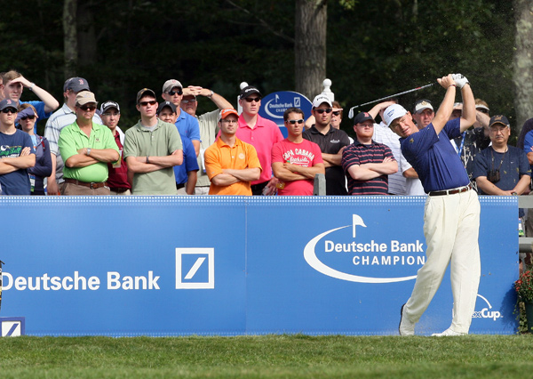 missed the cut after rounds of 75-73.More PhotosRound 1 at the Deutsche Bank Championship