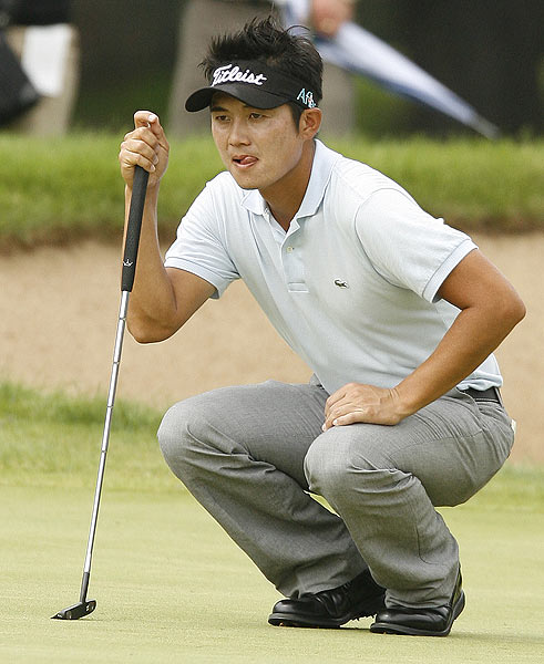 Ryuji Imada was at four under par after an opening-round 67.