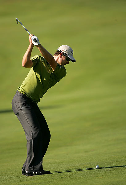 Justin Rose, who played with Woods on Sunday, finished at 13 under par.