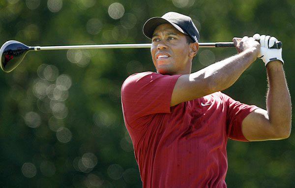 Woods had eight birdies in his bogey-free final round.