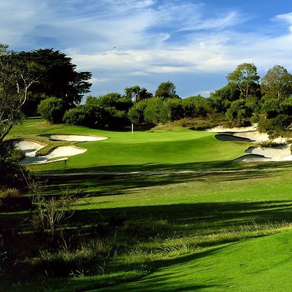Best Bunkers                                              1. Royal Melbourne (West), Australia                        2. Oakmont, Pennsylvania                       3. Sand Hills, Nebraska                       Twenty-eight courses were nominated; Pacific Dunes and Pine Valley tied for fourth, one vote behind Sand Hills.                       Left: Royal Melbourne (West)
