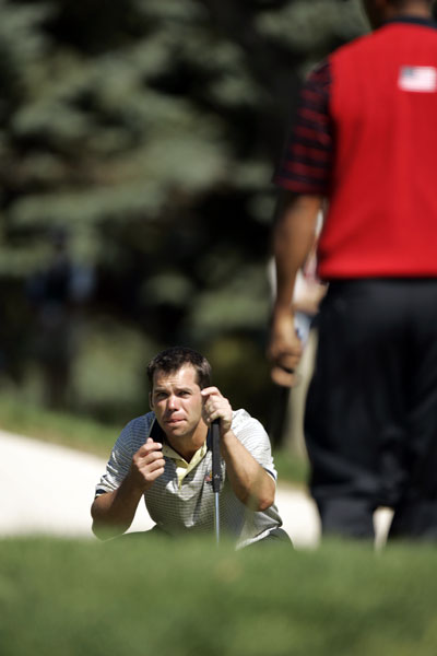 "PAUL CASEY                       ""Both my Ryder Cups were                       scary, but to be honest the                       first time was probably the scariest, at                       Oakland Hills in 2004.                                               I didn't play                       Friday, but on Saturday I played with                       David Howell, best ball. The one thing                       that Langer, Captain Langer, said to us                       was, 'Routine, guys. You've done it                       hundreds, thousands of times before.                       Stick to your routine.'                                               I think Howell went                       first and hit the fairway, which made it                       even worse. I could top it, I could hit                       it right, I could hit it anywhere — the                       things that go through your head are                       just ... hopefully you don't want anything                       to go through your head. You just want                       to react and do it. You just have to                       remember to breathe.                                               I didn't hit it very                       good. [Laughs.] But it found the middle                       of the fairway. I hit driver, scuffed it out                       there. I'm the only person who knows                       how much I missed the center of                       the club, but it went straight!                       And it got down there."""