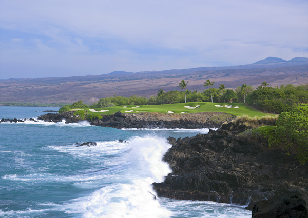 "Another course purged from the 2008 list due to its prolonged closure, Hawaii's Mauna Kea rebounds in spectacular fashion. Rees Jones kept the bones of his father's 1964 design and made it his own. ""It's a great routing, with naturally elevated tee and green sites,"" says the younger Jones. ""We wanted to bring it back, especially the old style of bunkers."" Today the greens are smoother, the bunkers reinvigorated, and the approaches are less taxing for the higher-handicap resort player but every bit as demanding for the serious stick. What never went away were the Big Island ocean vistas, including the eye-popping par-3 3rd, which has                       been restored to its gargantuan length of 261 yards, much of it a carry over the pounding Pacific surf from a tiny tee set into black lava rock. Our advice: snap a photo, then move up a tee box or two."
