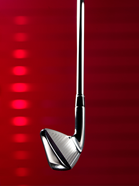 MIDDLE IRONS Adams positions the center of gravity closer to the face than in its current Idea a2. Tweaking the spin characteristics (a3 has lower spin) suits slightly higher clubhead speeds.