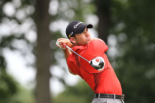 Sergio Garcia has made a strong showing at Congressional. He's four under and tied for sixth.