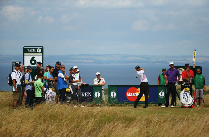 Sergio Garcia has seven career top 10s at the Open.
