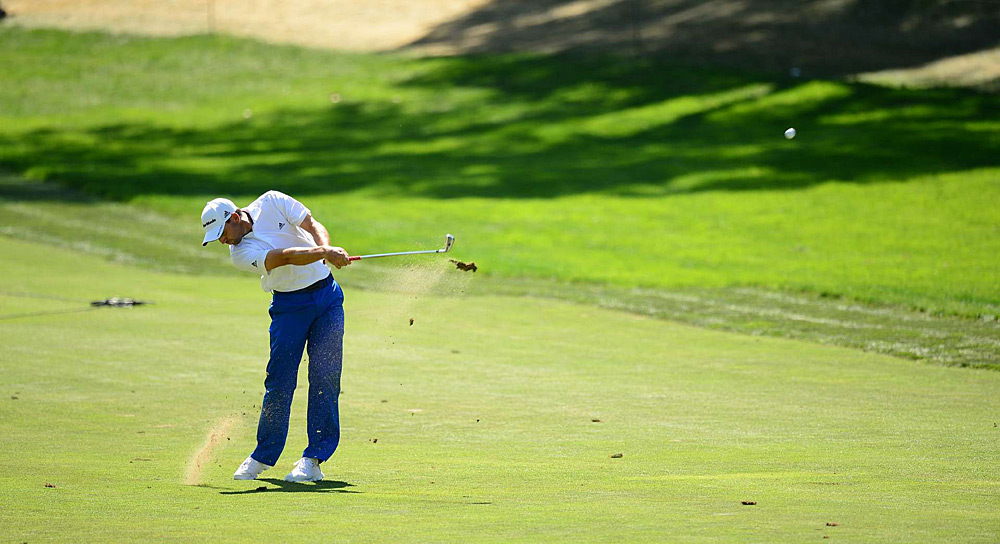 Sergio Garcia led by two coming into the final round, but he finished tied for third.