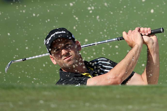 """Obviously, this is not my most favorite place. But we try to enjoy it as much as we can every time we come here.""                       --Sergio Garcia after shooting 66 in the first round of the 2013 Masters."