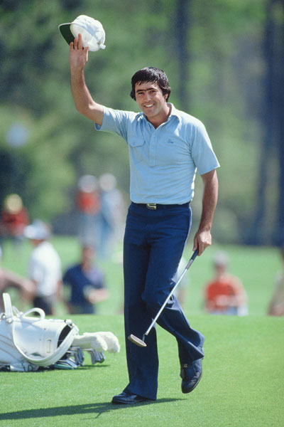 In 1980, 23-year-old Seve Ballesteros became the youngest Masters champion. A 21-year-old Tiger Woods broke that record in 1997.