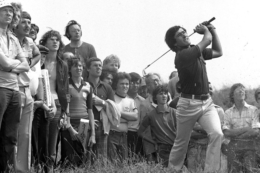 Seve Ballesteros                       The great Seve Ballesteros won the 1976 Dutch Open at 19. That same year, he nearly became the first and only teenager in the modern era to win a men's major when he tied for second at the British Open (pictured).