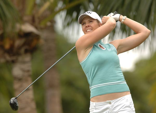 "Jill McGill                       Height: 6'                       Birthplace: Denver, Colorado                       Best finish: 2nd                                               This veteran has never won on Tour, but you have to admire a woman who lists her life's ambitions in the LPGA media guide as ""to sing 'The Gambler' live with Kenny Rogers"" and to ""dance like Janet Jackson."""
