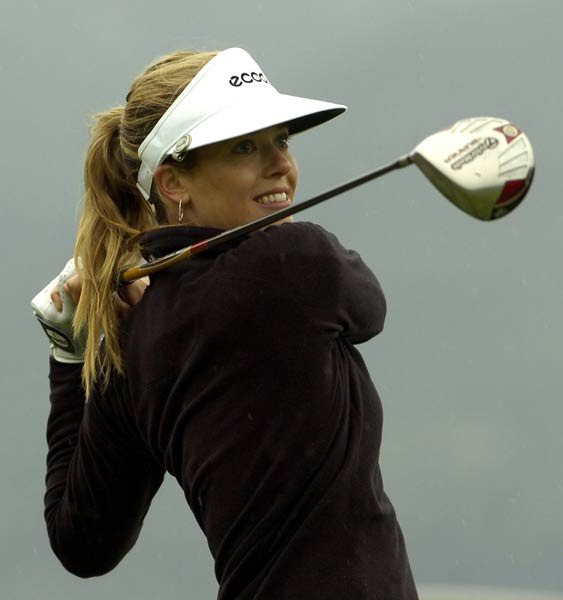 "Anna Rawson                     Height: 5'10""                     Birthplace: Australia                     Best finish: 2nd on the Ladies European Tour                                          This model/golfer has conditional status on the LPGA Tour after finishing 18th at Qualifying School. Rawson, who helped USC win the 2003 National Championship, has yet to make a cut, but she is getting closer.                                           More pictures of Rawson"